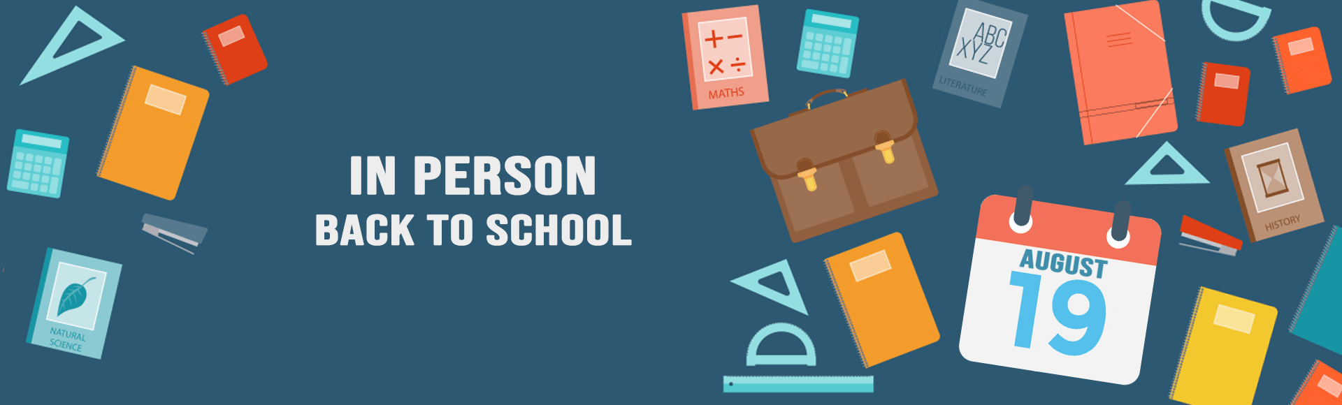 Back to School – In-Person Learners