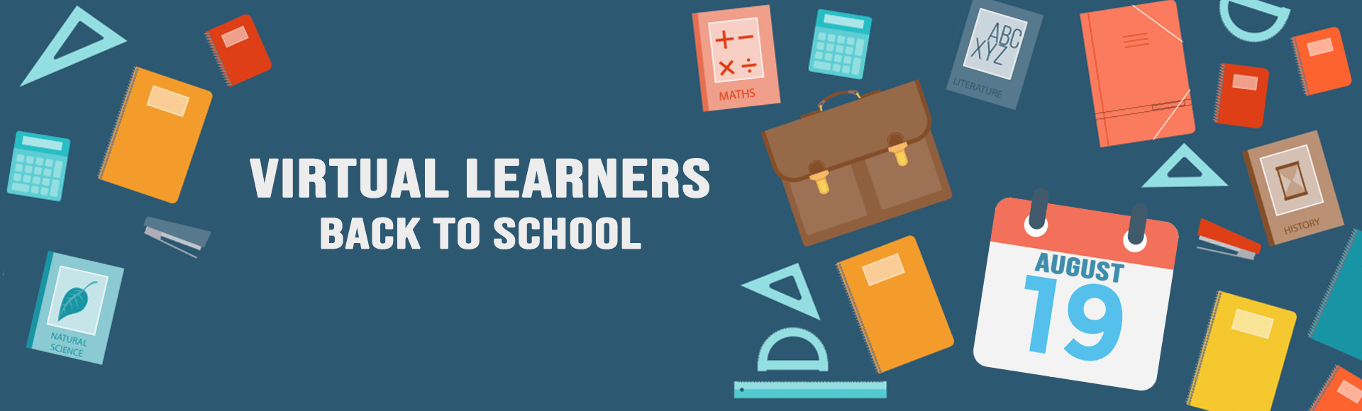 Back to School – Virtual Learners