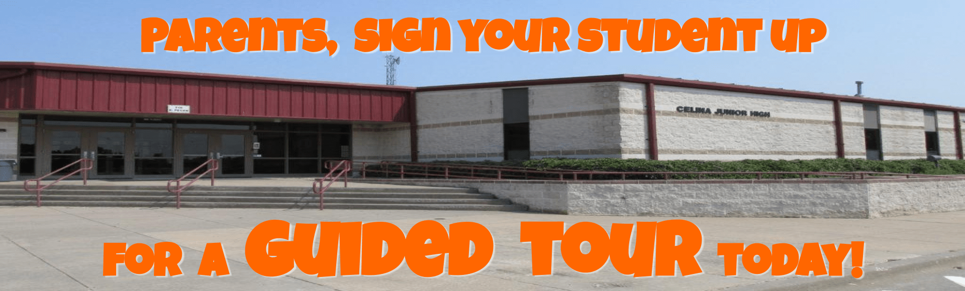Sign up for your student's tour!