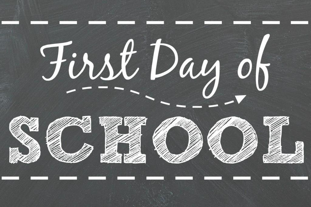 First Day of School – Wednesday, August 18, 2021