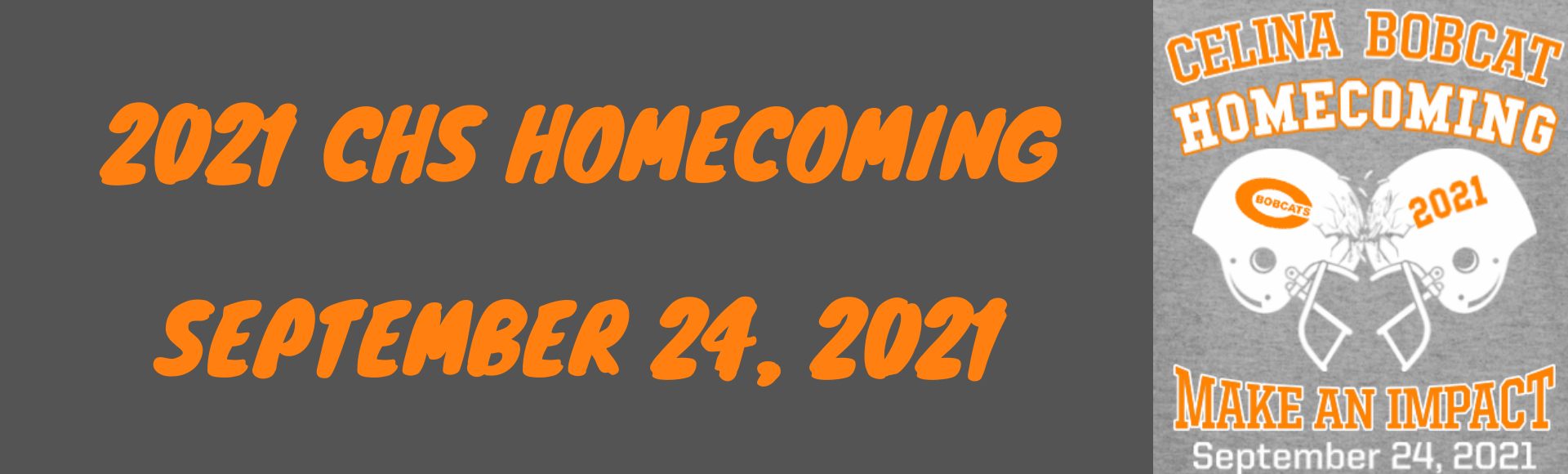CHS HOMECOMING INFORMATION